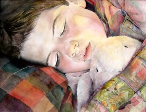 Jordan Sleeping by Lisa DeWilde
